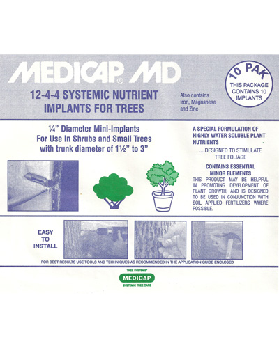 MEDICAP MD Min Front Label